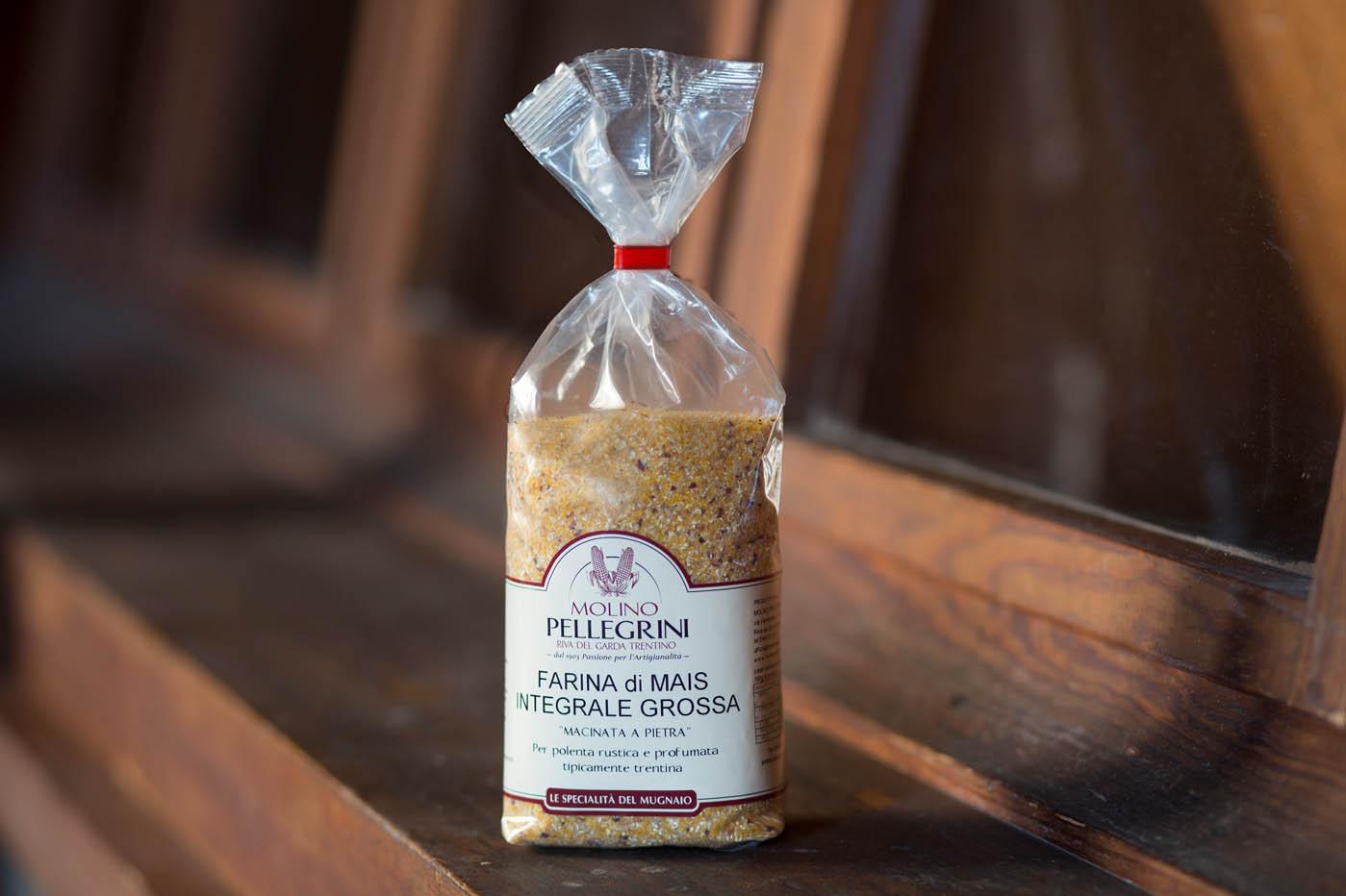 Farina di Mais Integrale Grossa macinata a pietra